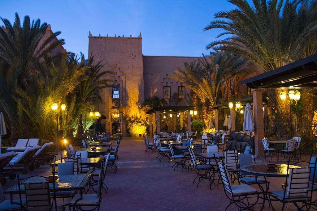 Berbere Palace oudoor dining