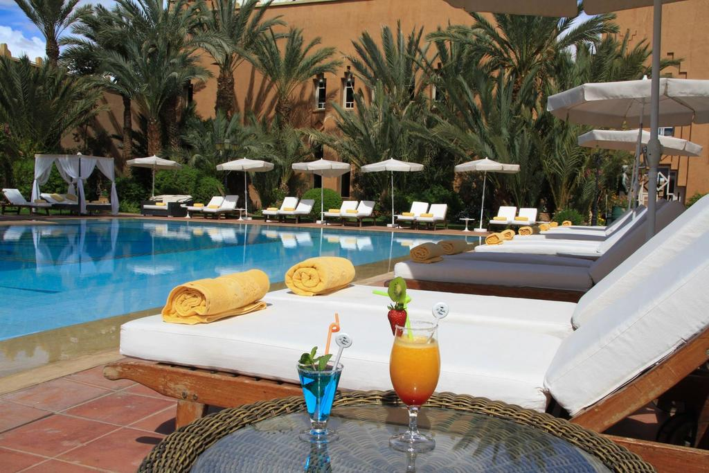 Berbere Palace swimming pool