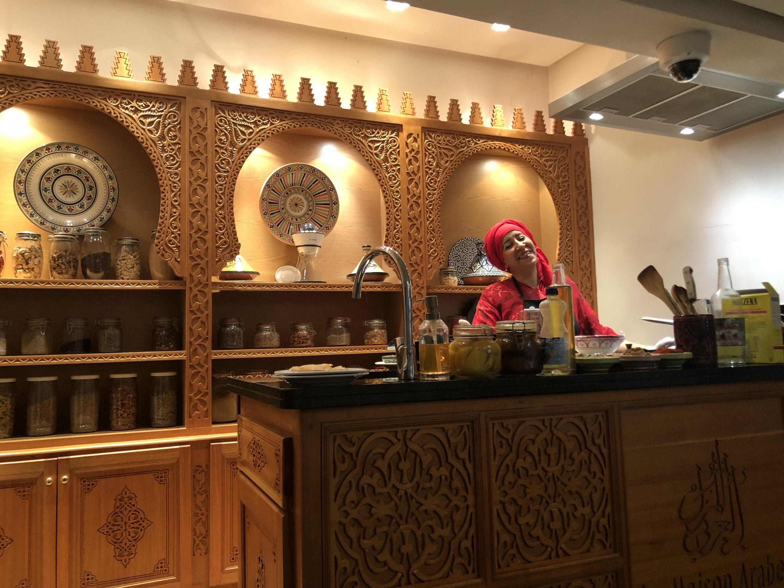 Cooking class in Marrakech
