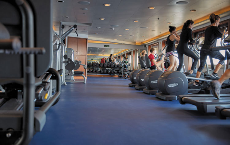 Fitness Room SS Voyager
