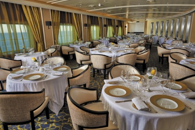 Chartreuse Restaurant Seven Seas Voyager
